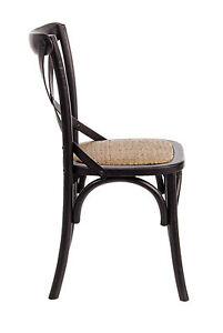 Wooden Chair David Black