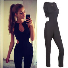 New Women Sexy Sleeveless Bodycon Jumpsuit Romper Trousers Clubwear Pants