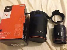 NEW SONY ALPHA SAL35F14G A- Mount