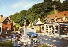 Vauxhall Victor Burley New Forest Hampshire unused 1960s postcard