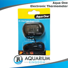 10299 Aqua One LCD Aquarium Digital Thermometer - Fish Tank Terrarium Reptile