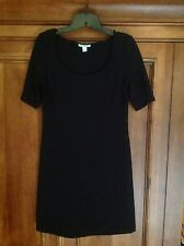 Boston Proper Simple Black Cocktail Dress, NWOT,XS,perfect condition