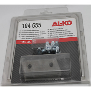 ALKO REPLACEMENT SHREDDER BLADES 104655 FOR ALKO DYNAMIC TCS2500 TCS3000 DUOTEC