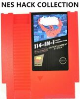 114 in 1 - HACK Colection Video Games for 8 bit 72 pins NES Console Multicart