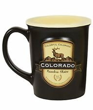 Colorado Emblem 18 oz Ceramic Coffee Tea Mug Cup 4.75 Inch Tall 4 Inch in Across