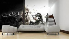 Mural wall sticker - Rainbow six - 12.75 pi x 8 pi - CUSTOM