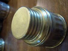 JUST-RITE JUSTRITE   Carbide Coal Miner's Pocket Bottom lid Flask - Bottle - Can