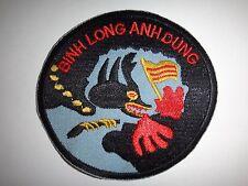 """Vietnam War Patch ARVN AN LOC Battlefield """"BINH LONG ANH DUNG"""" Year 1972"""