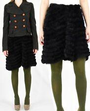 Rabbit Fur Skater Skirt Asymmetrical A Line Size XS/S 2 4 Lucidity Anthropologie