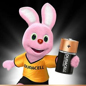 Duracell Plus Type C Alkaline Batteries, 1 pk's of 2's