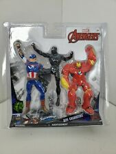 Marvel Avengers Dive Characters 3-Pack Captain America Black Panther Hulk Buster