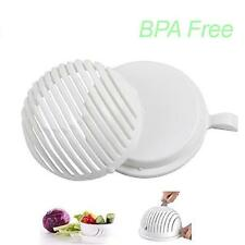 60 Second Salad Cutter Bowl, Vegetable Chopper, Chop Fresh Vegetables and Fruits