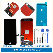 """iPhone 8 Plus 5.5"""" Replacement 3D Touch Screen LCD Digitizer Display Black Tools"""