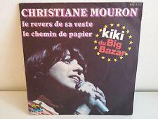 CHRISTIANE MOURON KIKI BIG BAZAR Le revers de sa veste BBZ 3010