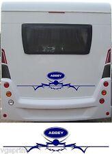 Abbey Grand camping-car / Caravane arrière Vinyl Stickers graphique