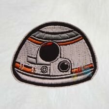 BB8 Face Embroidered Patch Star Wars The Force Awakens Finn Rey Rebel Android