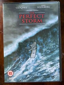 The Perfect Storm DVD 2000 Fishing Boat Disaster Movie w/ George Clooney