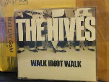 THE HIVES - WALK IDIOT WALK - cd singolo slim case PROMOZIONALE 2004