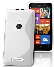 pour votre Nokia Lumia 925, ce bel étui&coque souple de qualité silicone, Blanc