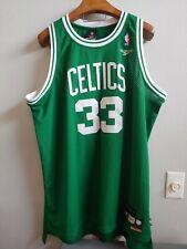 Larry Bird #33 Green Celtics Jersey Reebok Hardwood Classics SIZE: 3XL Length +2