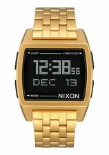 Nixon Original Base A1107-502 Gold Stainless Steel 38mm Watch