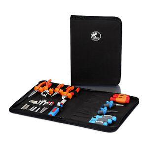 Profi Reißverschlussmappe Werkzeugmappe Werkzeugtasche Reißverschlusstasche