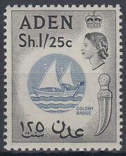 Aden 1964 ** Mi.86 Wz.2/wmk w12 Boot Boat Colony's badge [st1205]