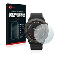 Protector pantalla cristal templado para Garmin Fenix 6x Pro claro transparente