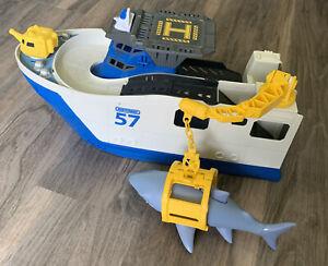 Matchbox 57 Marine Boat With Shark