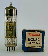 Mullard ECL82 Yellow Print Valve/Tube New Old Stock - 1 Piece G (V12)