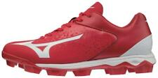 Mizuno Men's Wave Select Nine Baseball Cleats Red-White