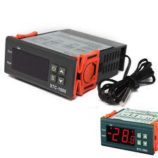 Temperature Controller Thermostat Aquarium STC1000 Incubator Cold Chain Temp FE
