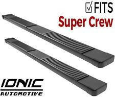 Ionic 51 Series Black fits 2009-2014 Ford F150 SuperCrew Running Boards Steps