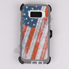 For Samsung Galaxy S7 S8 S9 Plus Note 4/5/8 Case(Clip Fits OtterBox Defender)