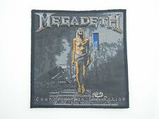 MEGADETH COUNTDOWN TO EXTINCTION WOVEN PATCH