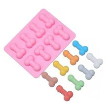 Penis bachelorette Dick Silicone Soap mold Candy Chocolate Fondant Tray ICE Cube