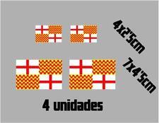(1117)4 x bandera TABARNIA Barcelona catalonia catalana vinilo adhesivo pegatina