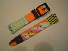 SWATCH BRACCIALE, Strap GB 410 taxi STOP, 17mm, NUOVO