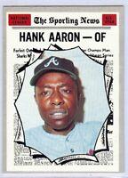 Hank Aaron 1970 Topps All-Star Vintage Baseball Card #462 Atlanta Braves 1534