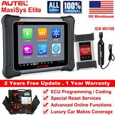 Autel MaxiSys Elite OBD2 Automotive Tool  Code Readers Scanner J2534 ECU Program