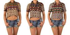 Markenlose Damenblusen, - tops & -shirts mit klassischem Kragen