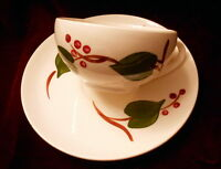 Blue Ridge Southern Potteries Stanhome Ivy Cup and Saucer
