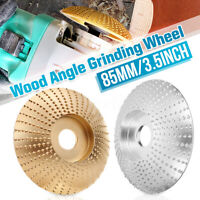 85mm Angle Grinder Grinding Gear Wheel Carbide Wood Sanding Carving Shaping Disc