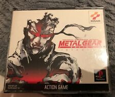 metal gear solid ps1 JAP VERSION RARE