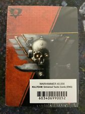 Kill Team Universal Tactics Cards, New Sealed, Warhammer 40k