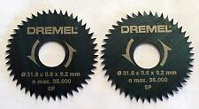 2 NEW DREMEL 546 RIP & CROSSCUT BLADE FOR USE W/ DREMEL 670 MINI SAW ATTACHMENT