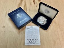 ~***PROOF*** 2003 W American Silver Eagle .999 with CoA & OGP (CC1312)