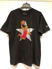 Pre-Owned Men's Nike Zoom Kobe V 'Puppet All Star' T-Shirt Sz L