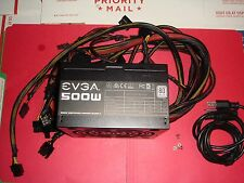 EVGA 500 W1 100-W1-0500 80+ WHITE 500W Power Supply BH311