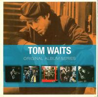 TOM WAITS (5 CD) CLOSING TIME~HEART OF SATURDAY~NIGHTHAWKS~SMALL CHANGE ++ *NEW*